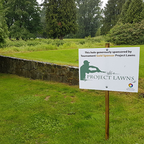 Project Lawns Giving Back